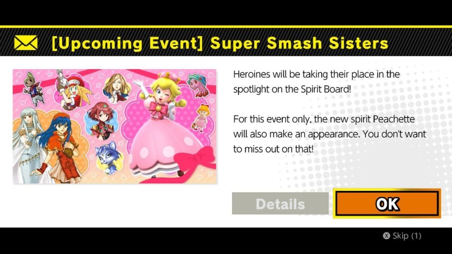 Super Smash Sisters Spirit Event