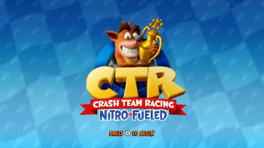 CTR Crash Team Racing Nitro-Fueled