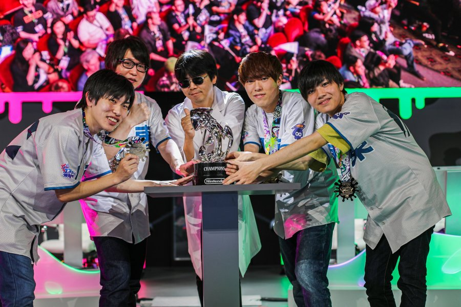 Splatoon 2 World Championship 2019 Winners