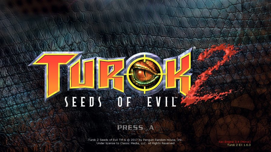 Turok 2: Seeds Of Evil Switch