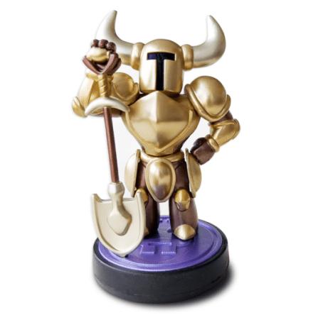 Gold Shovel Knight amiibo