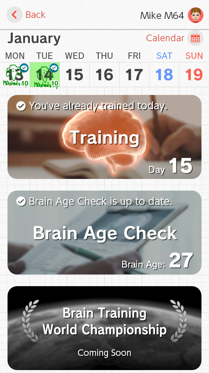 Brain Training (7)