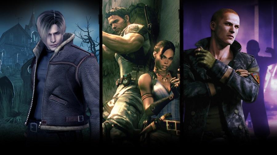 Switch Resident Evil Triple Pack