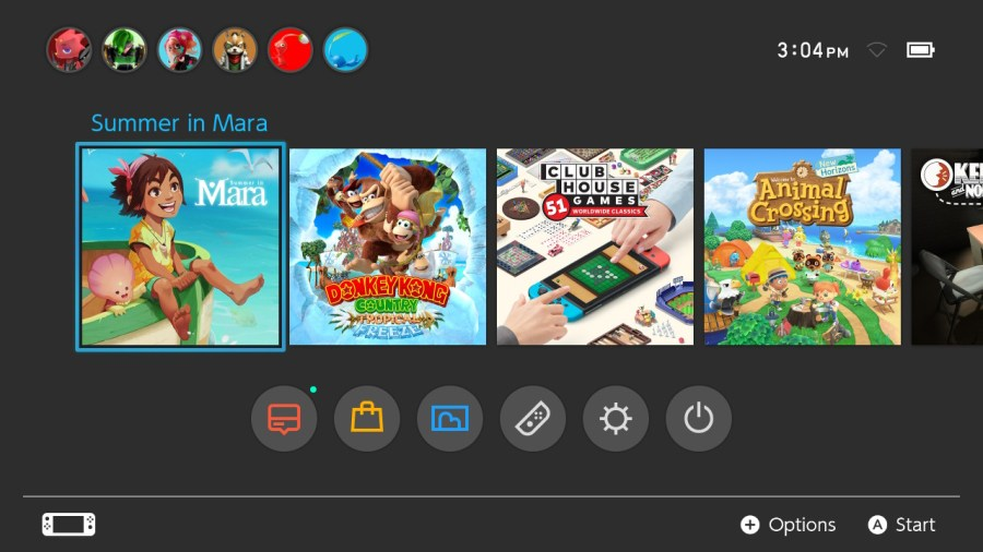 Summer In Mara Switch icon
