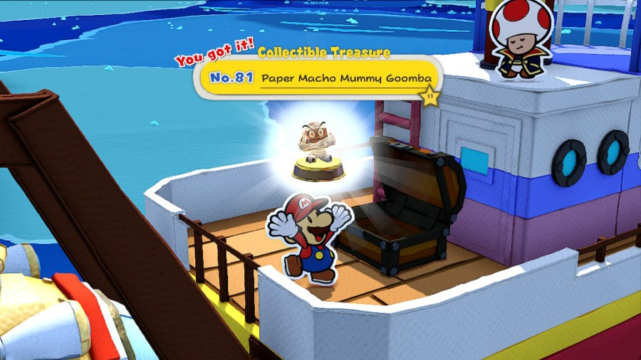 Paper Mario: The Origami King Collectible Treasures