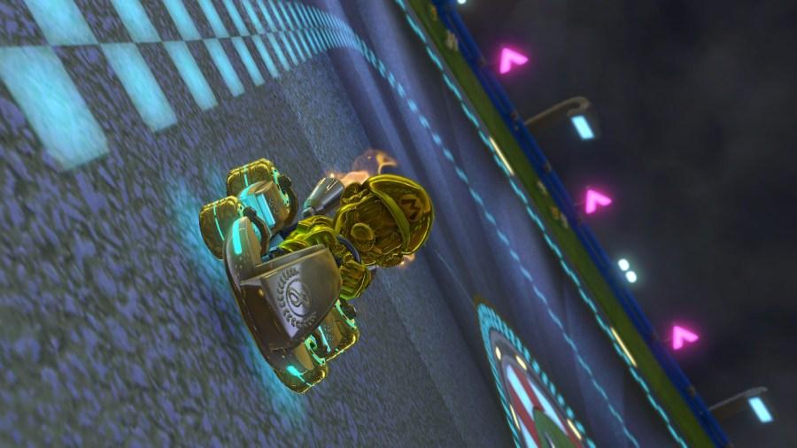 Mario Kart 8 Deluxe Gold Unlockables
