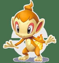Chimchar Pokémon Brilliant Diamond & Pokémon Shining Pearl