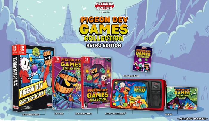 Pidgeon Dev Games Collection SteelBook