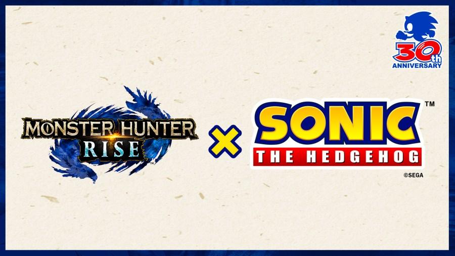 Monster Hunter Rise X Sonic The Hedgehog