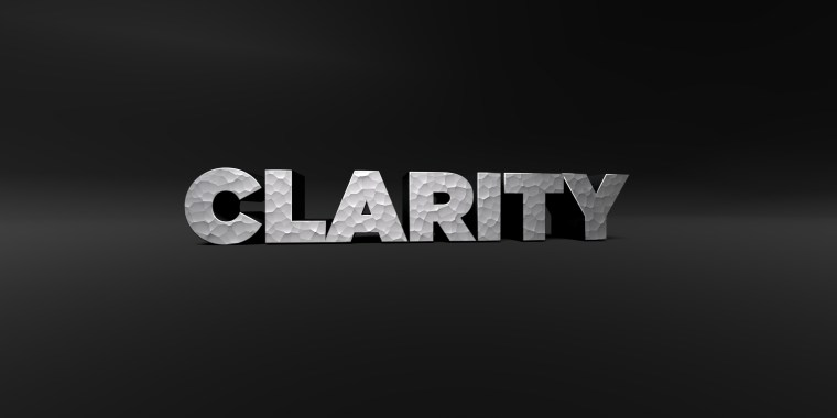 Clarity in 3D
