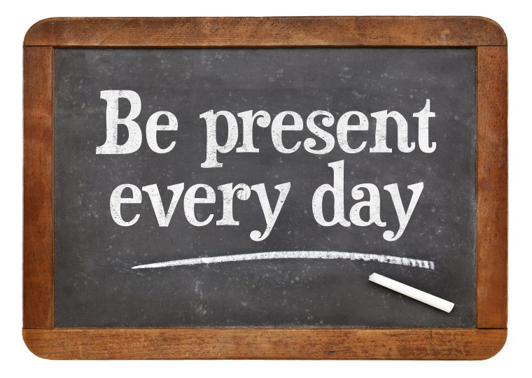 Be Present Every Day Sign