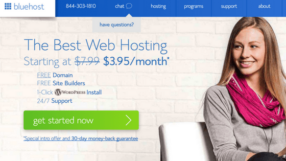 Bluehost Is The Hosting Mike Vestil Recommends