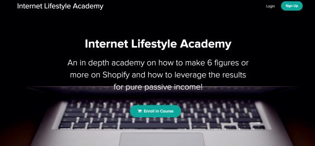 internet lifestyle academy
