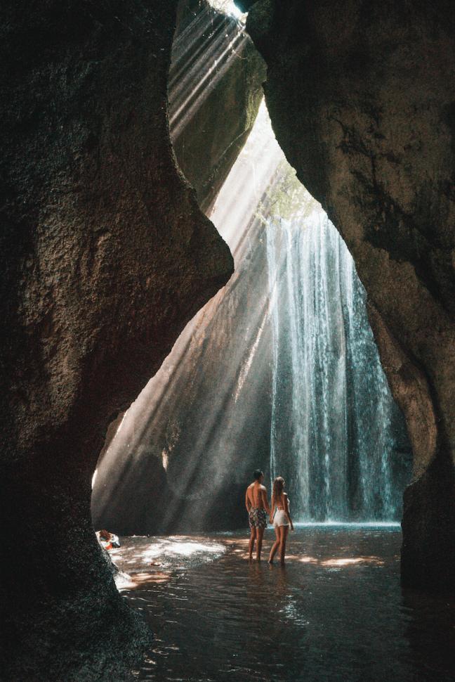 mike vestil cepung waterfall bali