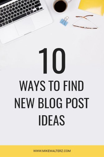 I often found myself suffering with writer's block, especially when trying to come up new ideas for a blog post. What should I write? What do people want? What do I actually want to write? These were all the questions I was asking myself, before I established ten different ways where I could find blog post idea inspiration. If you're struggling for ideas then check out this post! #blog #blogging #blogger #bloggerlife #post #ideas