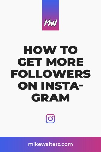 Struggling to grow your Instagram account, and wondering how you can get more followers? Find out the best ways to get new followers for free today! - Mike Walters - #instagram #followers #likes #socialmedia #business #comments #content #image #video