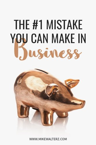Building a business is difficult, but it gets 10x harder when you make this same mistake that many entrepreneurs around the world are making each day! - Mike Walters - #money #business #sales #finance #entrepreneur