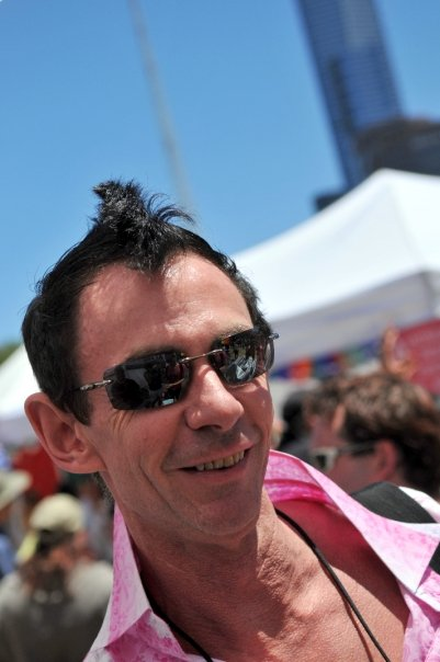 Addam Stobbs at the 2009 Midsumma Carnival