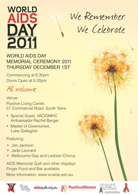 2011 World AIDS Day Memorial