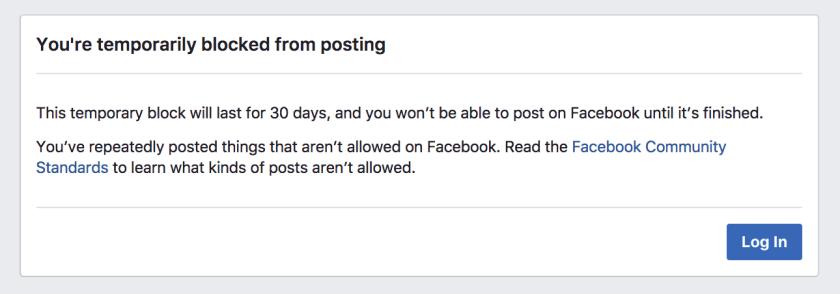 30 day ban