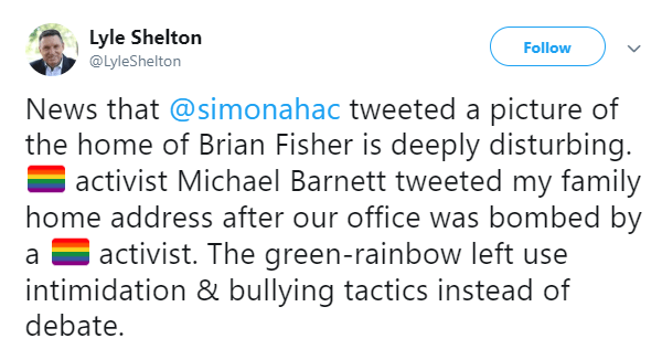 Lyle Shelton's latest tamtrumette