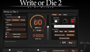 write or die 2 - screenshot