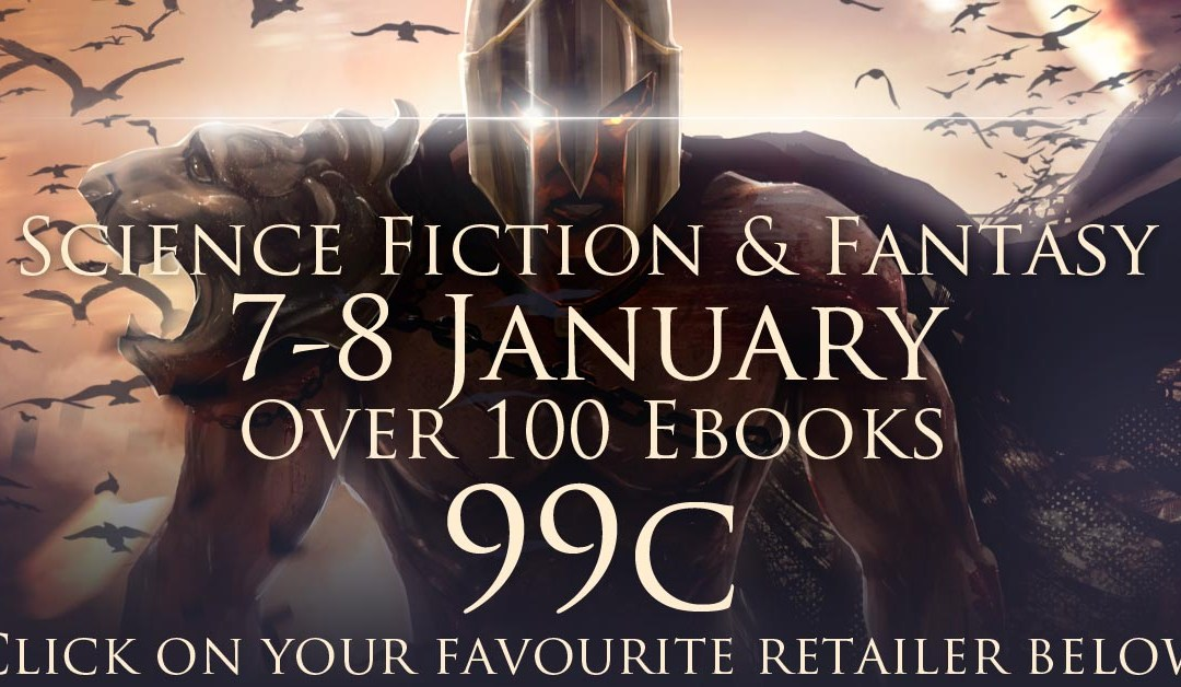 Sci-Fi and Fantasy Sale – 7-8 January Only – SFF Bargain ebooks at Only 99 Cents