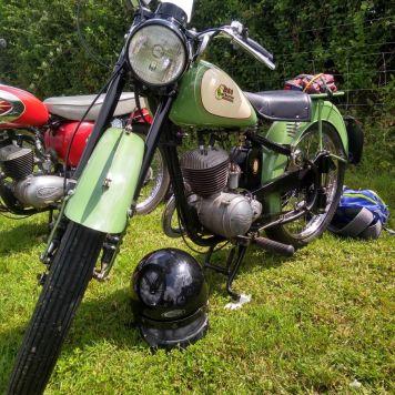 A nice old bike.