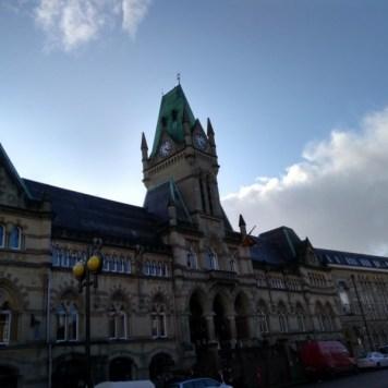 An impressive town hall
