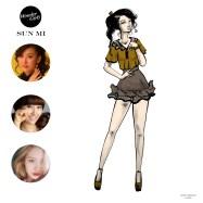 Mikey Espinosa - WonderGirls instagram post - Sun Mi