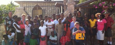 Tytoo Gardens Orphanage in Haiti, Receives Their MIKEY