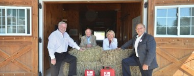 WindReach Farm received four MIKEY defibrillators from The Mikey Network