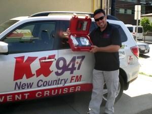 Mikey On Board Durham Radio