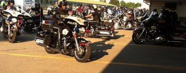 The Mikey Network at the 2013 Canada's 911 Ride
