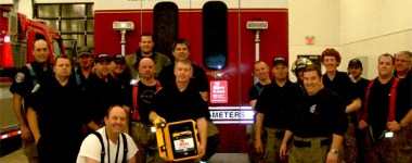 Meaford and District Fire Department Get MIKEYs (defibrillators)