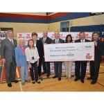 Mikey Network Peel Schools Defibrillator Donation