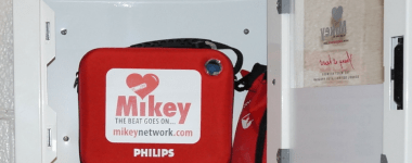 Saved By A MIKEY AED