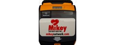 Mikey Newtork defibrillator