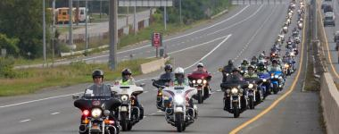 Canada's 911 Ride Foundation's Ontario ride is this weekend!
