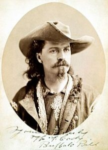 Wild West Cody in 1875