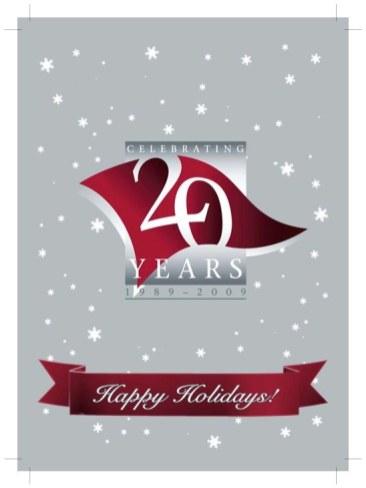 WSU Vancouver 2009 Holiday Card version 3