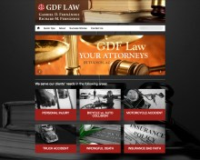 Website Screenshot GDF Law