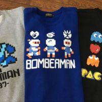 本日発売!しまむらの「レトロゲーム」キャラデザインのスウェット&長袖Tシャツを全種類買ってきました!