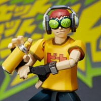 『ジェットセットラジオ』ビートの超クールなアクションフィギュア!『GAME・CLASSICS vol.2 ジェットセットラジオ ビート』が発売に!