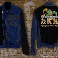 刺繍入りジャケットカッコいい…!ゲームスグロリアースより、『ダブルドラゴン』 & 「PAC-STORE」の新作コラボレーション商品が発売決定!