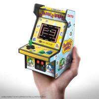 プレイもできるコンパクトな筐体「レトロアーケード」!新たに『バブルボブル』、『エレベーターアクション』、『ローリングサンダー』が発売に!