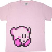 ぜんぶカワイイ!「星のカービィ」新作ドット絵Tシャツ&サコッシュが発売に!