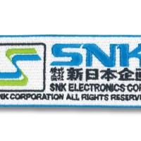 ネオジオロゴやSNK旧ロゴがアツい!SNKオンラインショップで発売されたベルクロワッペンがカッコいい件