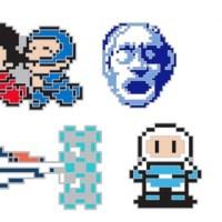 """「東京ゲームショウ2019」に、""""インドア×GAMES GLORIOUS""""のコラボ出展が決定!コナミのドット絵ピンズや、『対戦ホットギミック』や『ストライカーズ1945』などの新作グッズも登場!"""