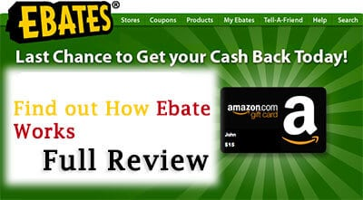 Ebates amazon Review